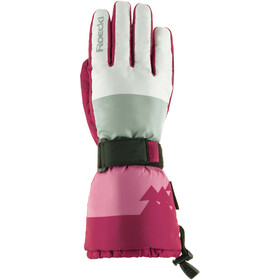 Roeckl Arlberg Ski Gloves Kids white/berry